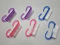 Щётки для ногтей, фигурная ручка (утюжок) малая 2шт/уп, фото 1