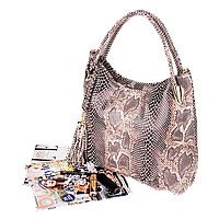 Женская сумка Realer P059 бежевая