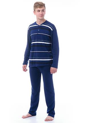 Теплая мужская пижама Турция из хлопока, фото 2