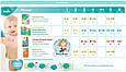 Подгузники Pampers Active Baby-Dry Размер 4 (Maxi) 8-14 кг, 70 подгузников, фото 10