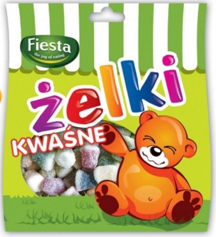 Желейки Zelki kwasne 80 гр.