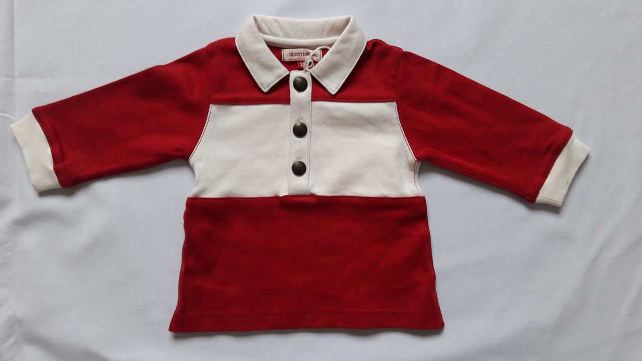 Кофта Dpam красная с белым