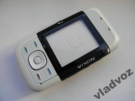 Корпус для Nokia 5200 чёрный с кнопками class AAA, фото 2