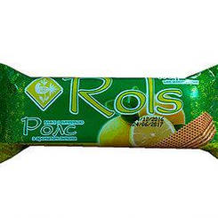 """Вафлі """"Rols"""" з ароматом лимона 50 гр"""