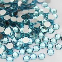 Стразы для ногтей Crystal SS 04 (голубые) 100 шт.