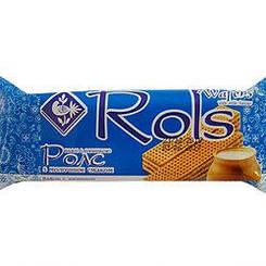 "Вафли ""Rols"" с  молочным вкусом 50 гр"