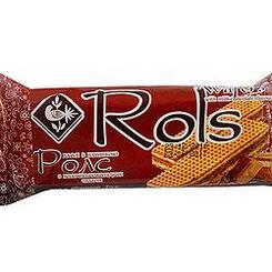 """Вафлі """"Rols"""" з молочно-шоколадним смаком 50 гр"""
