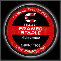 Coilology Framed Staple Coil 2-28/4-1*3/36 GA, фото 1