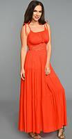Платье красивое сарафан TEFFI style-1180/3 белорусский трикотаж из ткани Штапель цвета Красный