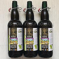 Греческое Оливковое Масло HPA Extra Virgin (первый отжим, Kalamata) ORGANIC GOLD, 1л – стекло Оливкова олія