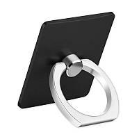 Кольцо держатель для iphone, смартфона, телефона от YOMO black (черное), фото 1