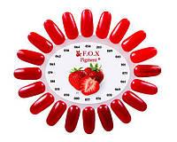 F.O.X красные оттенки Новые цвета!!!