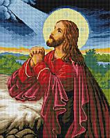 """Набір для алмазної мозаїки """"Ісус на Оливковій горі"""" 40х50см GF1286, фото 1"""