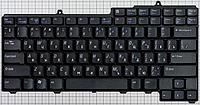Клавиатура для ноутбука DELL (Inspiron: 1300, B120, B130; Latitude: 120L), rus, black
