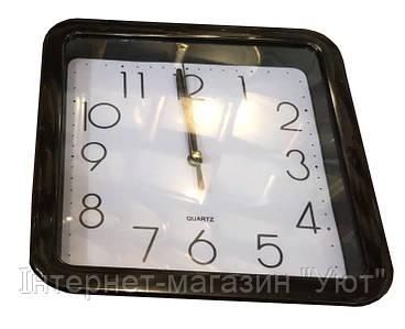 Настенные часы Quartz(черный, желтый)
