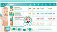 Подгузники Pampers Premium Care New Born Размер 2 (Для новорожденных) 3-6 кг, 80 подгузников, фото 10