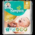 Подгузники Pampers Premium Care New Born Размер 2 (Для новорожденных) 3-6 кг, 80 подгузников, фото 2