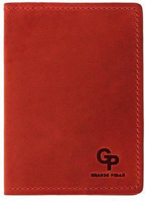 Обложка для паспорта Grande Pelle 252160 красный