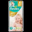 Подгузники Pampers Premium Care Размер 4 (Maxi) 8-14 кг, 52 подгузников, фото 2