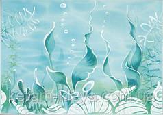 Декор ЛАЗУРЬ морское дно 25x35 бирюзовый