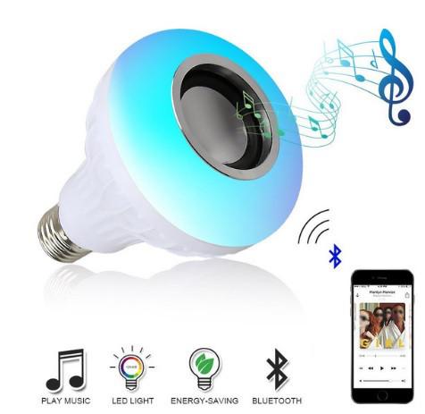 Беспроводной Bluetooth Динамик-лампа меняющая свет! Колонка блютуз на пульте управления!