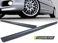 Накладки на пороги тюнинг обвес BMW E46 Sedan / Touring стиль M-paket