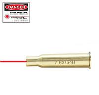 Лазерный патрон холодной пристрелки  для карабина и винтовки Мосина, калибр 7.62х54R., фото 1
