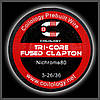 Coilology Tri-Core Fused Clapton 3-0.4/0.13mm