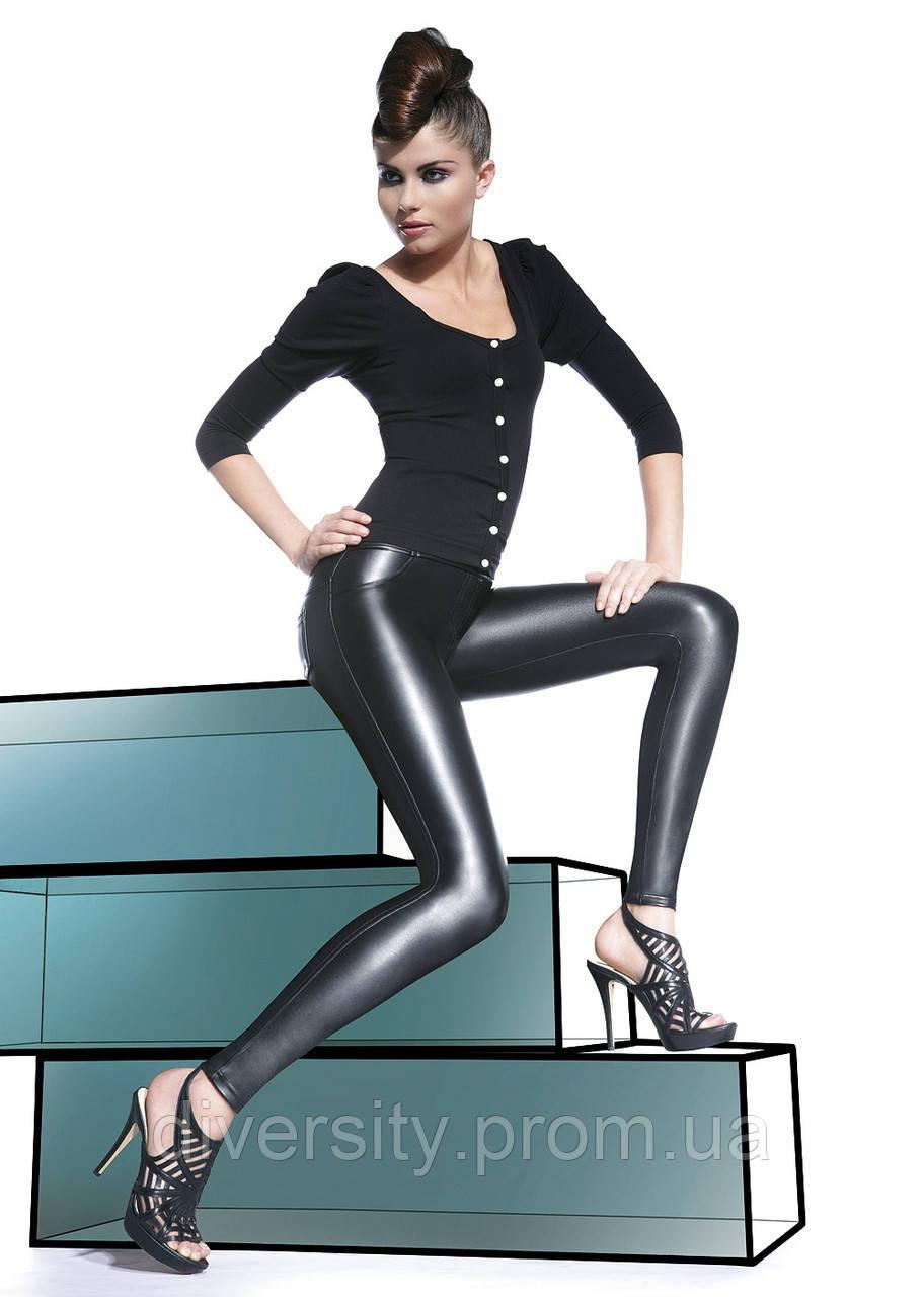 Леггины из эко-кожи Vanessa BB 3-M, черный