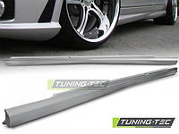 Накладки на пороги тюнинг обвес Mercedes W221 стиль AMG S63 S65