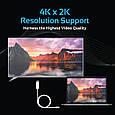 Кабель Promate uniLink-H1 HDMI - USB Type-C 1.8 м White, фото 7