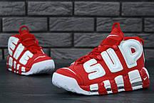 Кроссовки мужские Nike Air More Uptempo  Red/White. ТОП Реплика ААА класса., фото 3