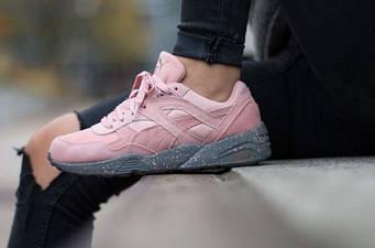 "Женские кроссовки Puma Winterized R698 Coral Cloud ""Pink"""