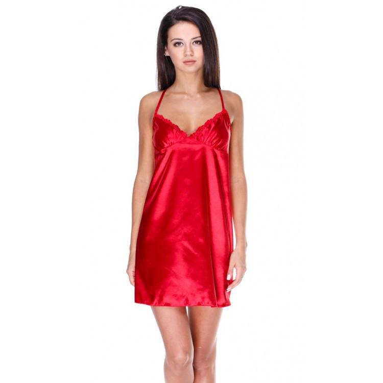Красивая красная ночная сорочка Серенада(Serenade)532
