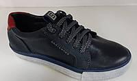 Подростковые кожаные туфли мокасины на шнурке для мальчика , школьная подростковая обувь ,Размеры: 32-38