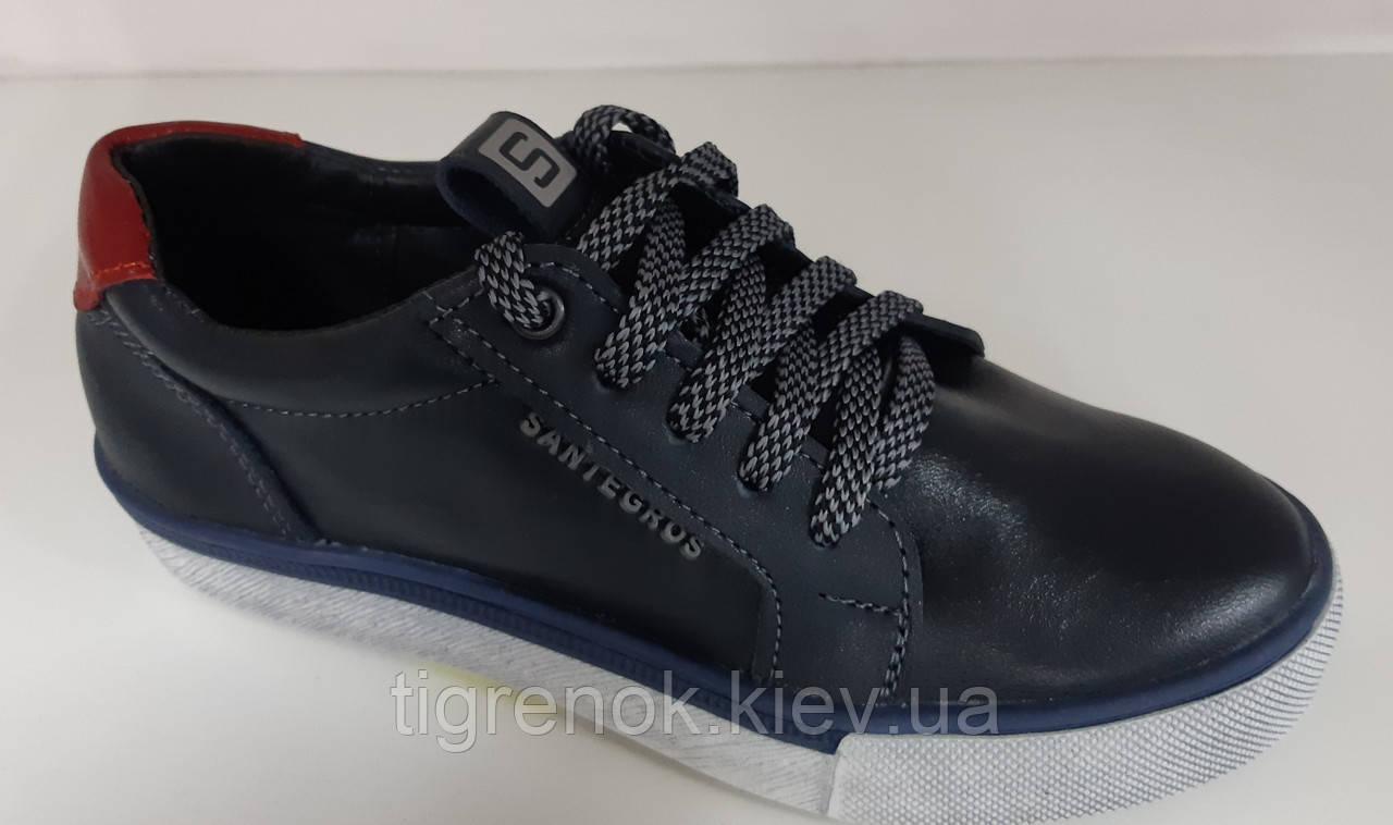 6aaf84971 Подростковые кожаные туфли мокасины на шнурке для мальчика , школьная  подростковая обувь ,Размеры: 32