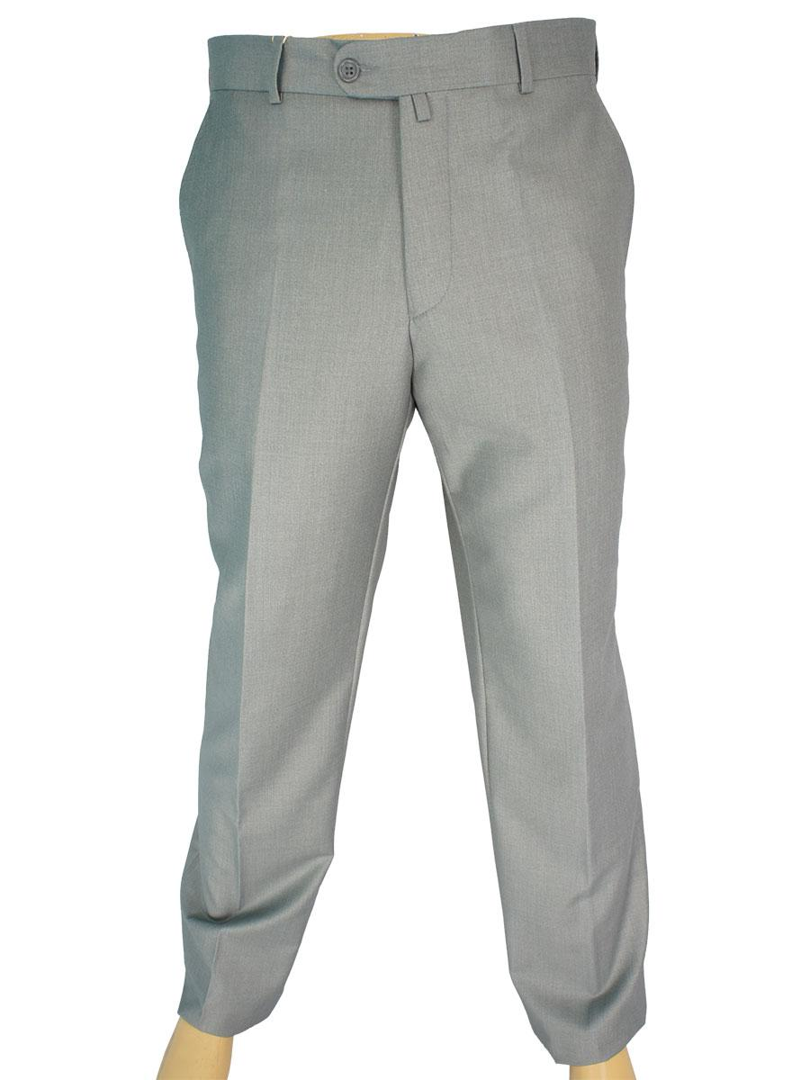 Сірі класичні брюки Monzeratti 0679 light grey для чоловіків