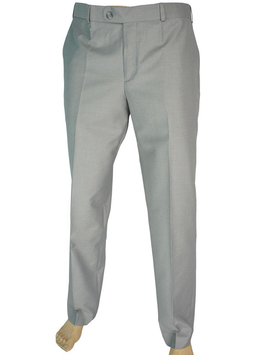 Однотонні чоловічі брюки Giordano Conti B 291 №14 Leon U в світло-сірому кольорі