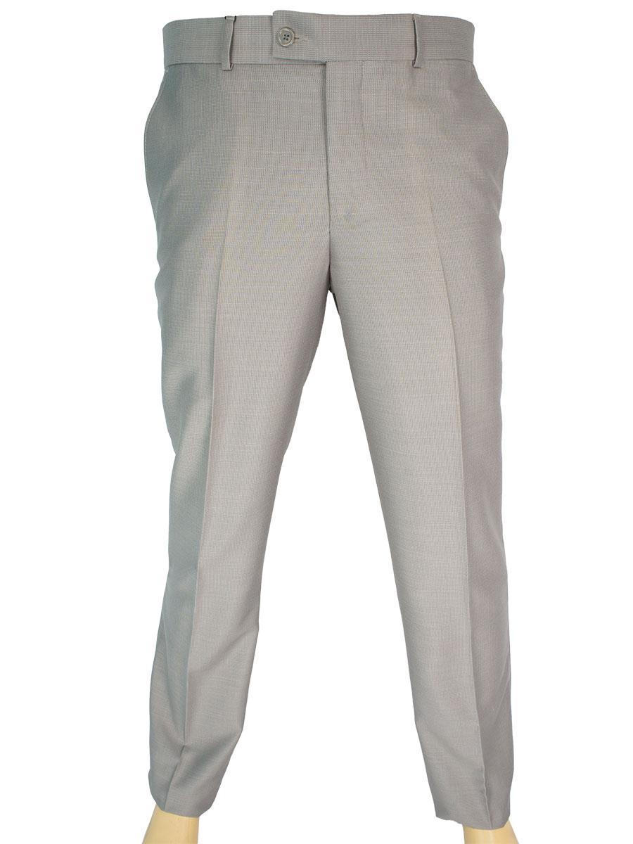 Світлі чоловічі класичні брюки Monzeratti 0679 cappucino struct