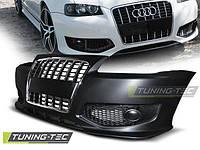 Бампер передний тюнинг обвес Audi A3 8L в стиле S line