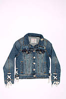 Джинсовая куртка для девочек Breeze (116-152), фото 1
