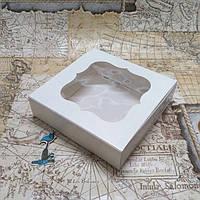 Коробка для конфет (120*120*30 мм.) с окном