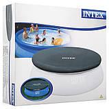 Тент защитный для надувного бассейна диаметром 244 см Intex 28020, фото 2
