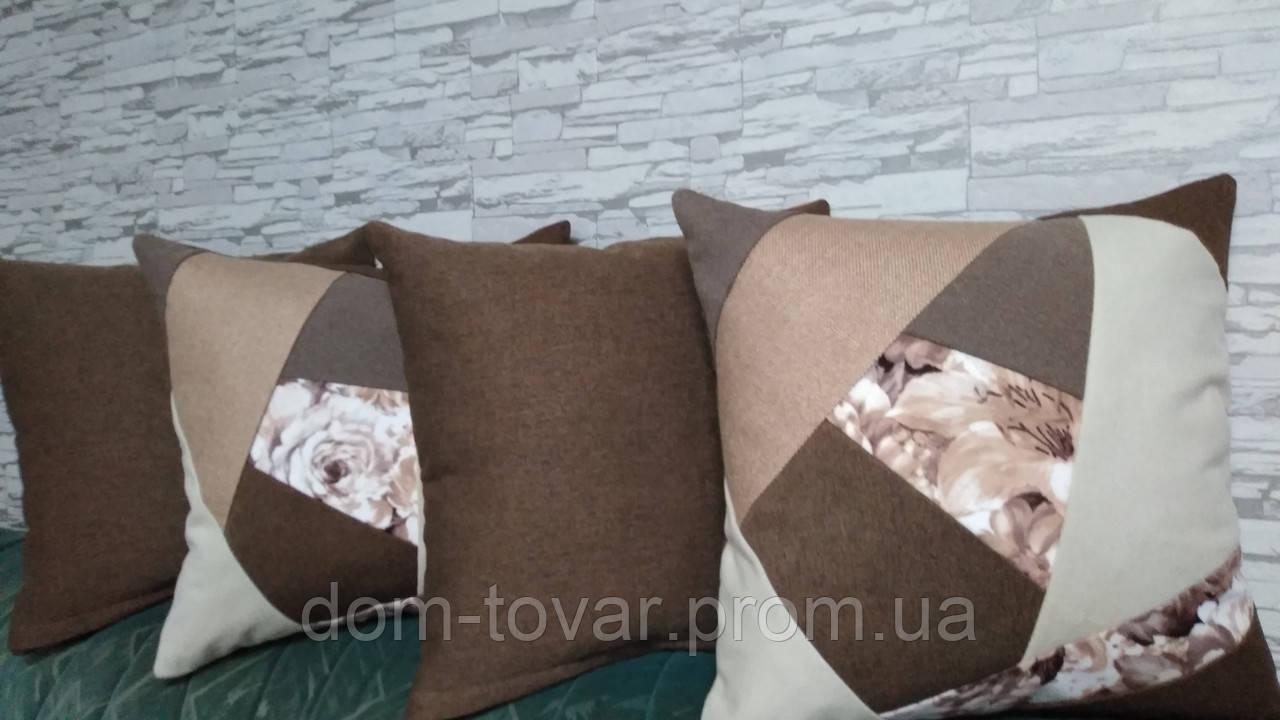 Подушки декоративные со сьемным чехлом 45х45