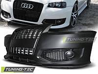 Передний бампер тюнинг обвес Audi A3 8L в стиле S line