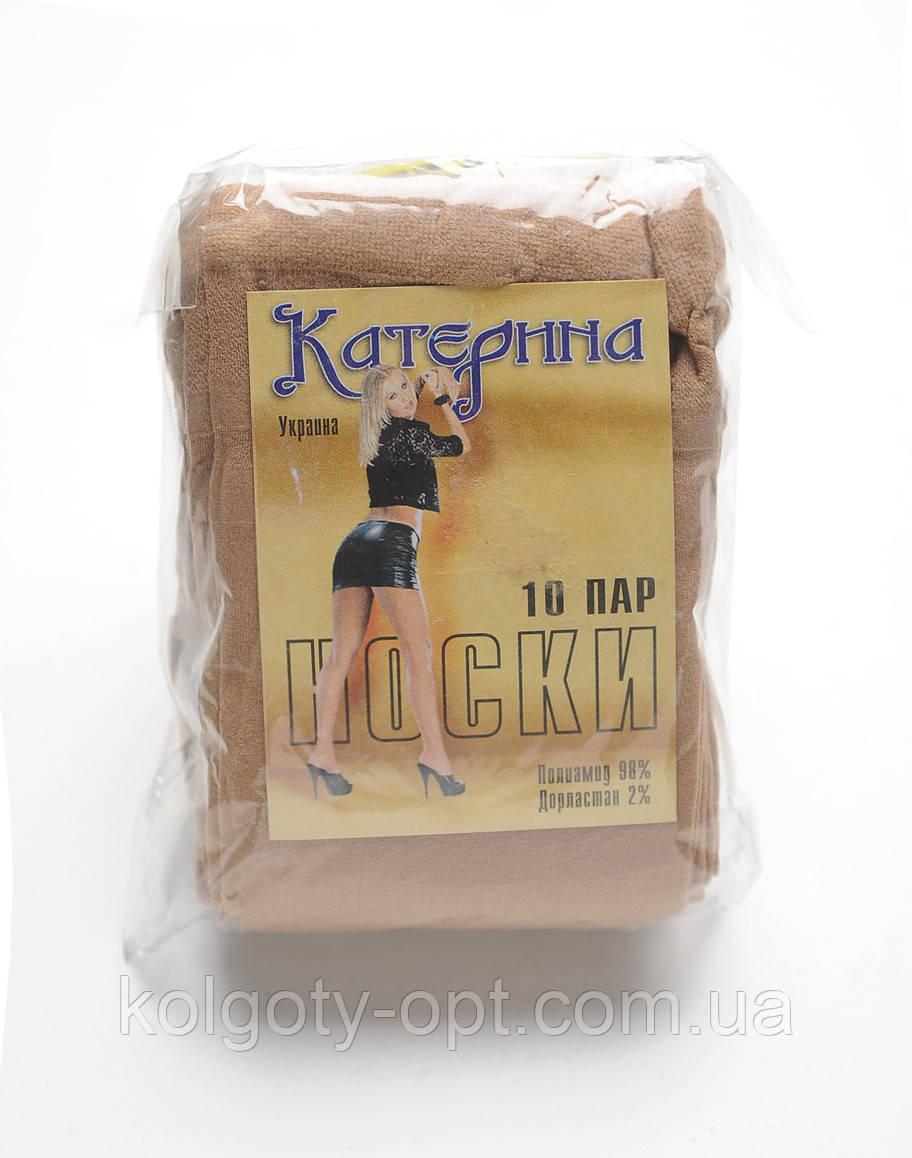 Женские безразмерные капроновые носки Катерина 40 den