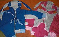 Костюм спортивный (футер,байка). Цвет синий. Размер 110/60