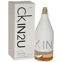 Тестер туалетна вода Calvin Klein CK IN2U For Her (ORIGINAL), 100 мл