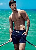 Большие купальные шорты David Man BS 5950 58(4XL) Синий David Man BS 5950