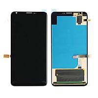 Дисплей (экран) для LG H930 V30/H931/H933/VS996/US998/LS998U с сенсором (тачскрином) черный Оригинал